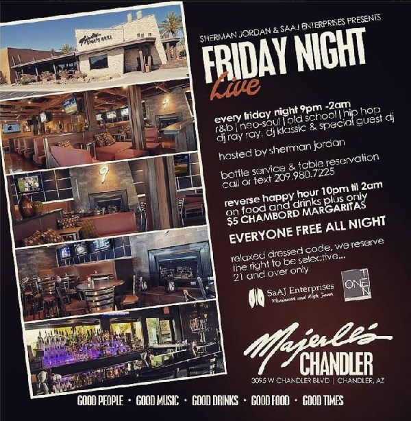 Majerle's Sports Grill - Friday