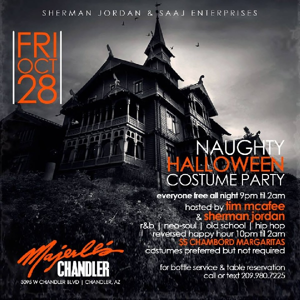 Naughty Halloween Costume Party